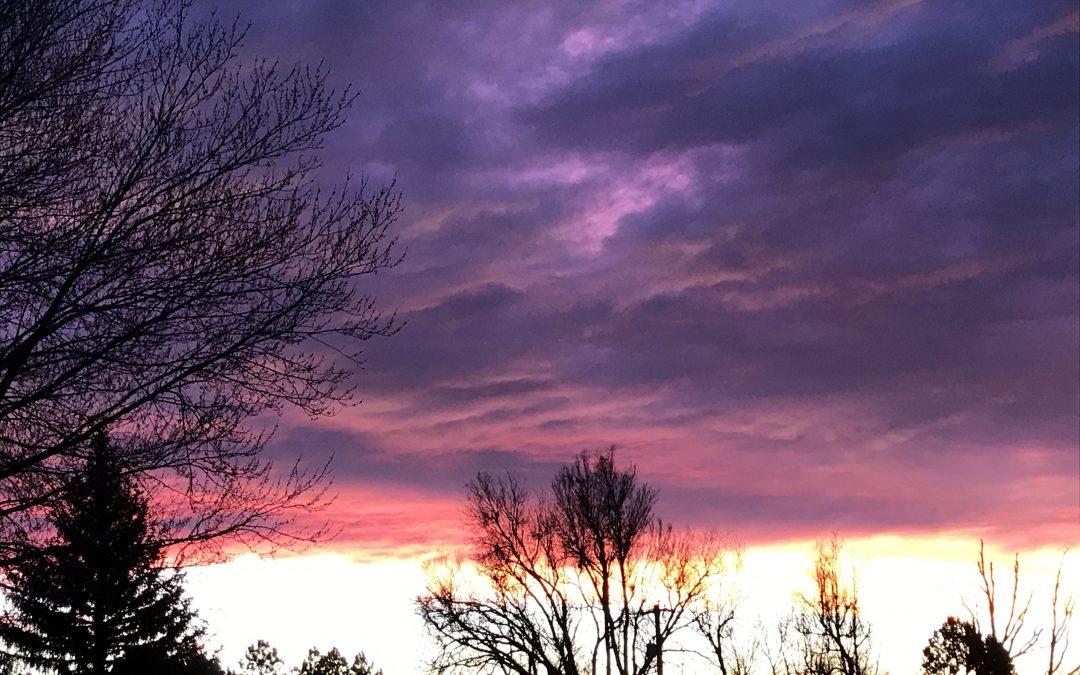 In Purple Haze of Morning
